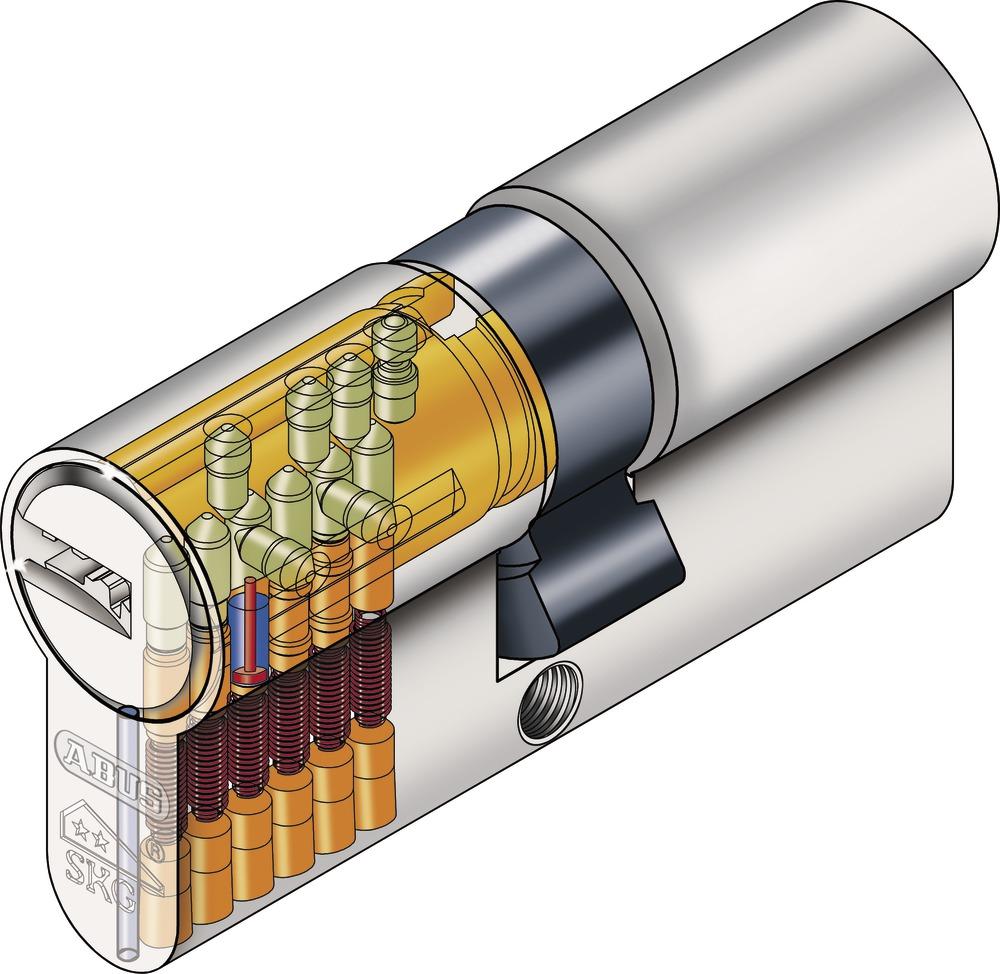 ABUS Cylindre De Porte XPS - Cylindre porte