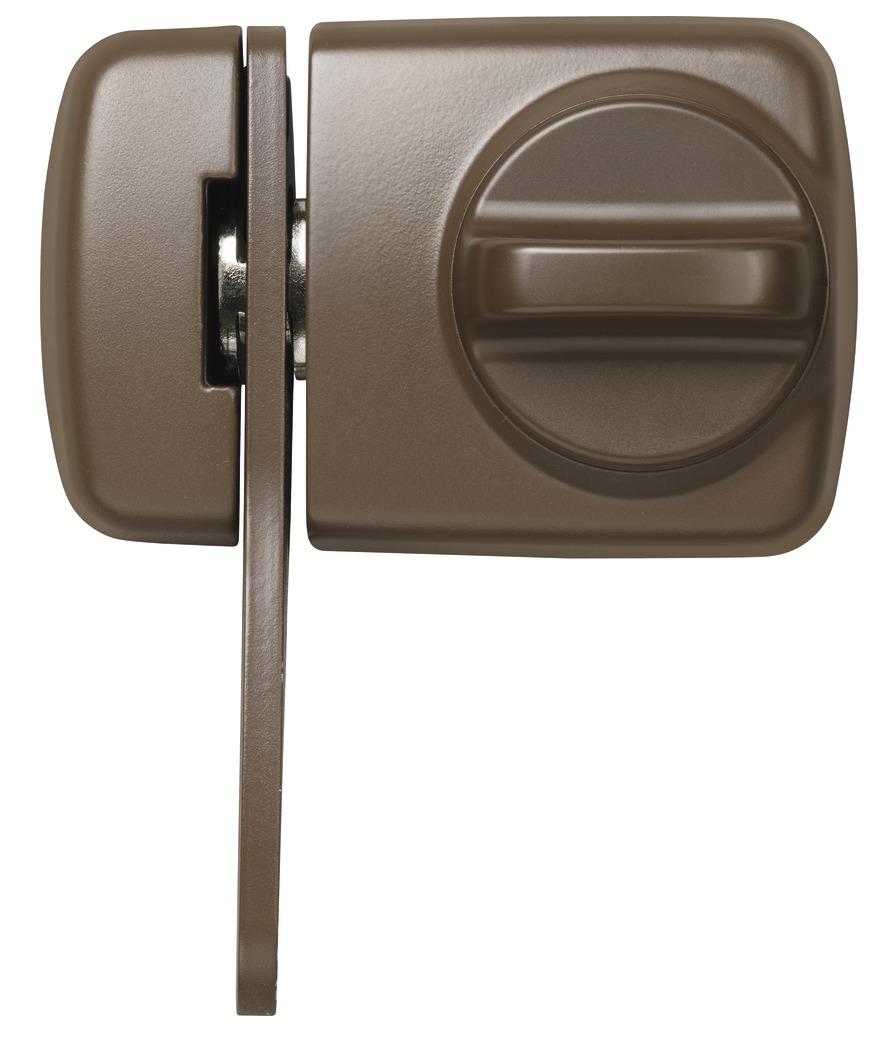 abus rim lock 7530 w ek 58925. Black Bedroom Furniture Sets. Home Design Ideas