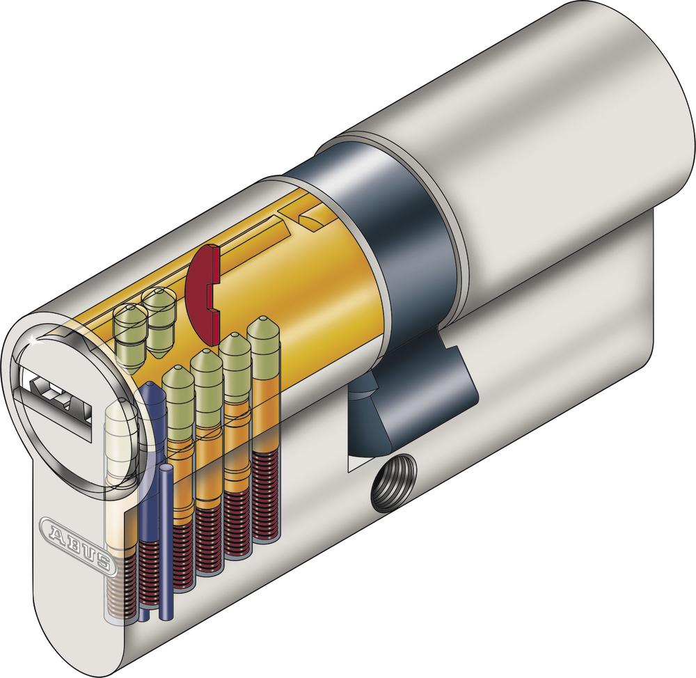 Abus cylindre de porte ec s 44994 - Cylindre de porte ...