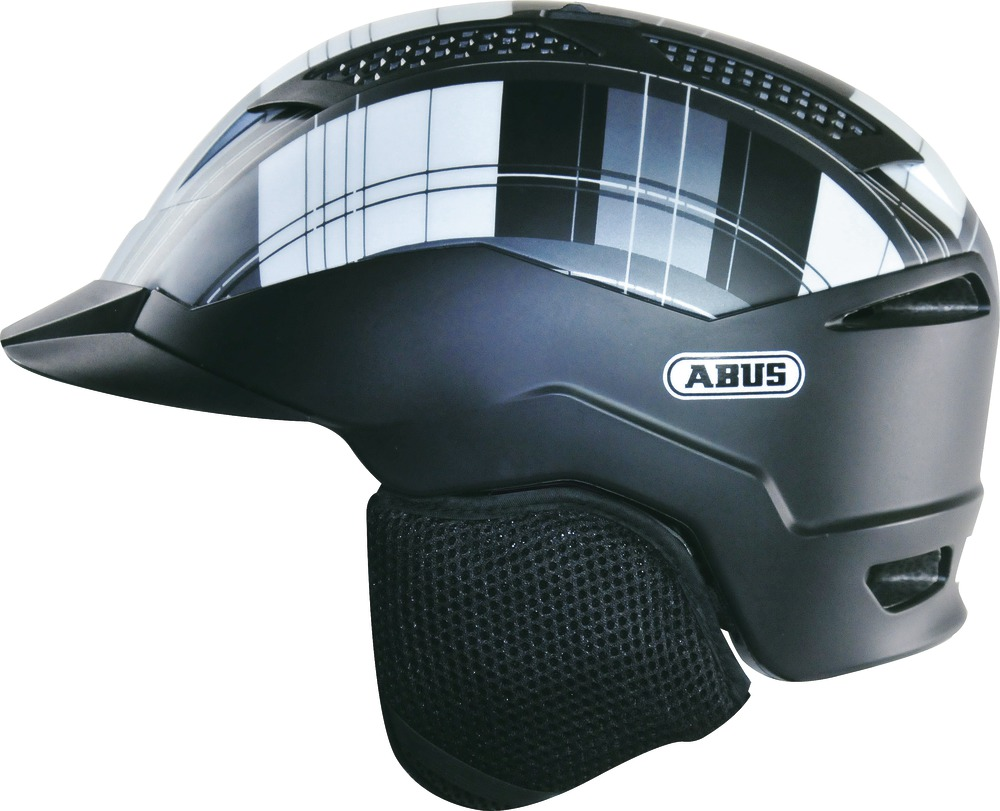abus fahrradhelm urbanaut schwarz m 52 57 cm deepblue. Black Bedroom Furniture Sets. Home Design Ideas