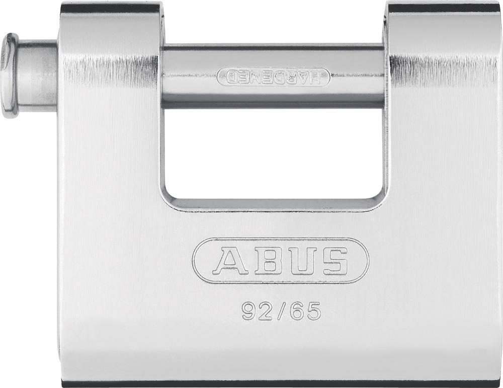 abus padlock steel 92 65 30609. Black Bedroom Furniture Sets. Home Design Ideas