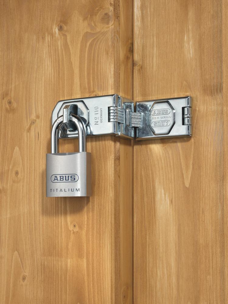 abus padlock 80ti 40 56220. Black Bedroom Furniture Sets. Home Design Ideas