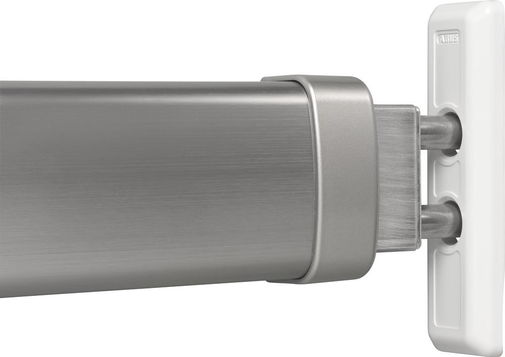 abus door bar pr2700 stainless steel finish 49087. Black Bedroom Furniture Sets. Home Design Ideas