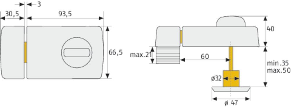 abus t rzusatzschloss 2110 w b dfnli 56032. Black Bedroom Furniture Sets. Home Design Ideas