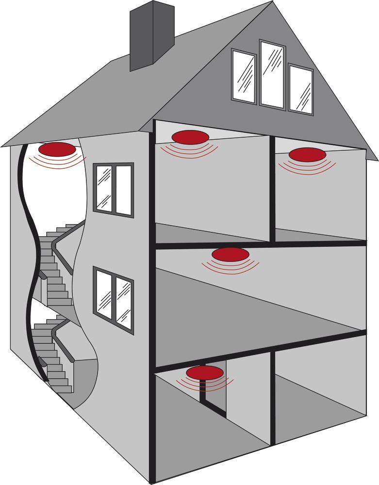 abus d tecteur de fum e rm13 nf 24709. Black Bedroom Furniture Sets. Home Design Ideas