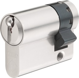 Half cylinder, compatible with ABUS padlock, Series 86/55, without obliged locking 352-86-55/452-86-55