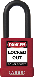 Plastic-Covered Safety Padlock 74/40