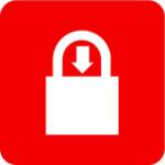 Bloqueo automático: el bloqueo se bloquea automáticamente presionando hacia abajo el grillete; no se requiere llave para bloquear