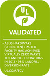 Comes from a facility with virtually zero waste to landfill