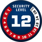 Level 12 | ABUS GLOBAL PROTECTION STANDARD ®  | Ein höherer Level entspricht mehr Sicherheit