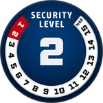 Level 2 | ABUS GLOBAL PROTECTION STANDARD ®  | Ein höherer Level entspricht mehr Sicherheit