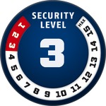 Level 3 ABUS GLOBAL PROTECTION STANDARD ® A higher level means more security