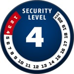 Level 4 | ABUS GLOBAL PROTECTION STANDARD ®  | Ein höherer Level entspricht mehr Sicherheit