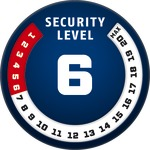 Level 6 | ABUS GLOBAL PROTECTION STANDARD ®  | Ein höherer Level entspricht mehr Sicherheit