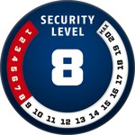 Level 8 ABUS GLOBAL PROTECTION STANDARD ® A higher level means more security