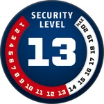 Level 13 | ABUS GLOBAL PROTECTION STANDARD ®  | Ein höherer Level entspricht mehr Sicherheit