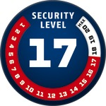 Level 17 | ABUS GLOBAL PROTECTION STANDARD ®  | Ein höherer Level entspricht mehr Sicherheit
