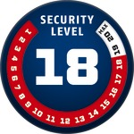 Level 18 ABUS GLOBAL PROTECTION STANDARD ® A higher level means more security
