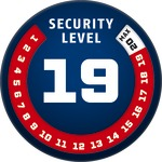 Level 19 | ABUS GLOBAL PROTECTION STANDARD ®  | Ein höherer Level entspricht mehr Sicherheit