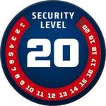 Level 20 | ABUS GLOBAL PROTECTION STANDARD ®  | Ein höherer Level entspricht mehr Sicherheit