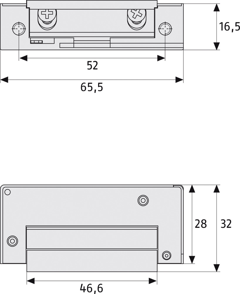 ABUS MT90 EK mechanischer Türöffner