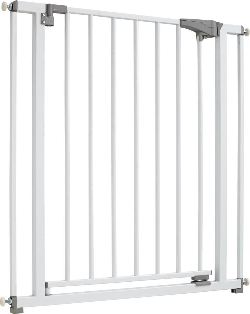 Metal Door And Stair Gate JC9330 W FINN
