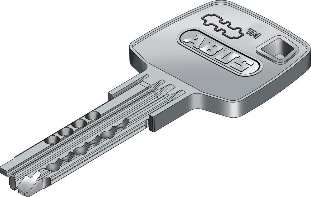 Abus EC660 mit Codenummer Gravierte Zusatzschlüssel/ Mehrschlüssel