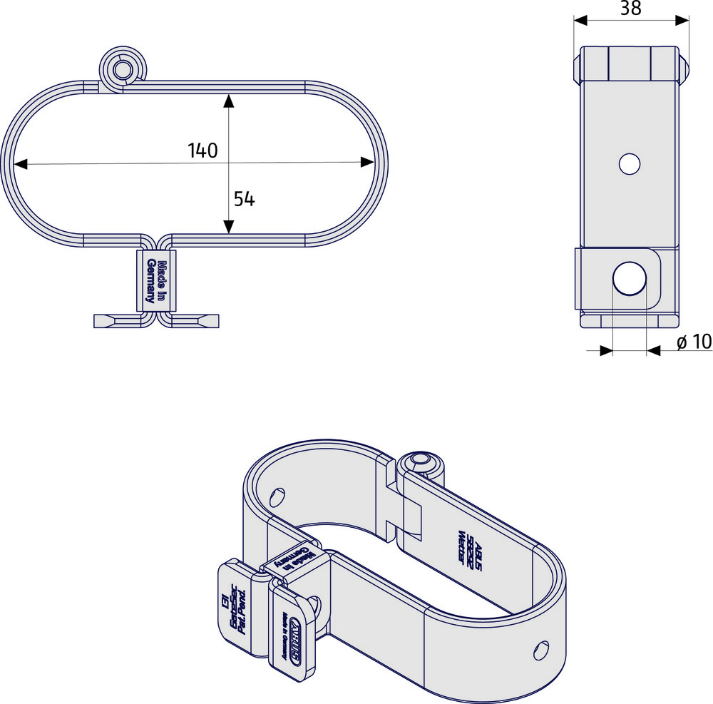 Abus Cable Wiring Diagram Sargent 131 140 Gatesec Hasp 76824 Rh Com Coaxial On Pole Hdmi