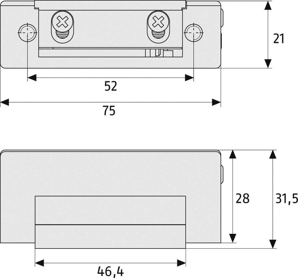 ABUS Elektrischer Türöffner ET70 EK (25917)