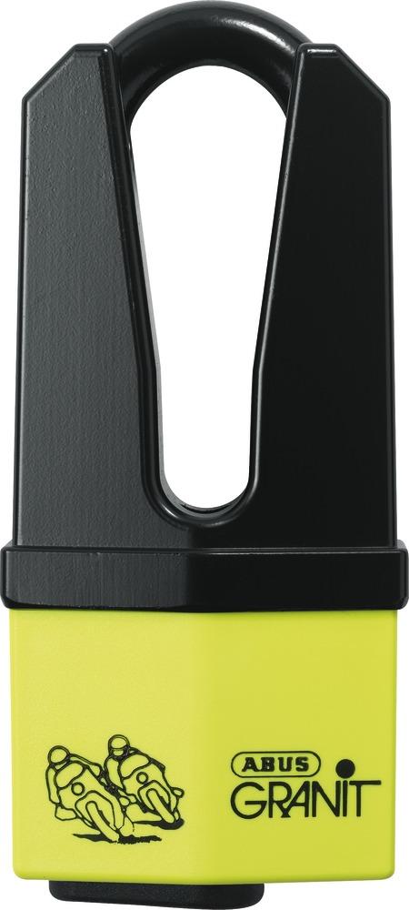 Disclock Abus Granit Quick 37 giallo