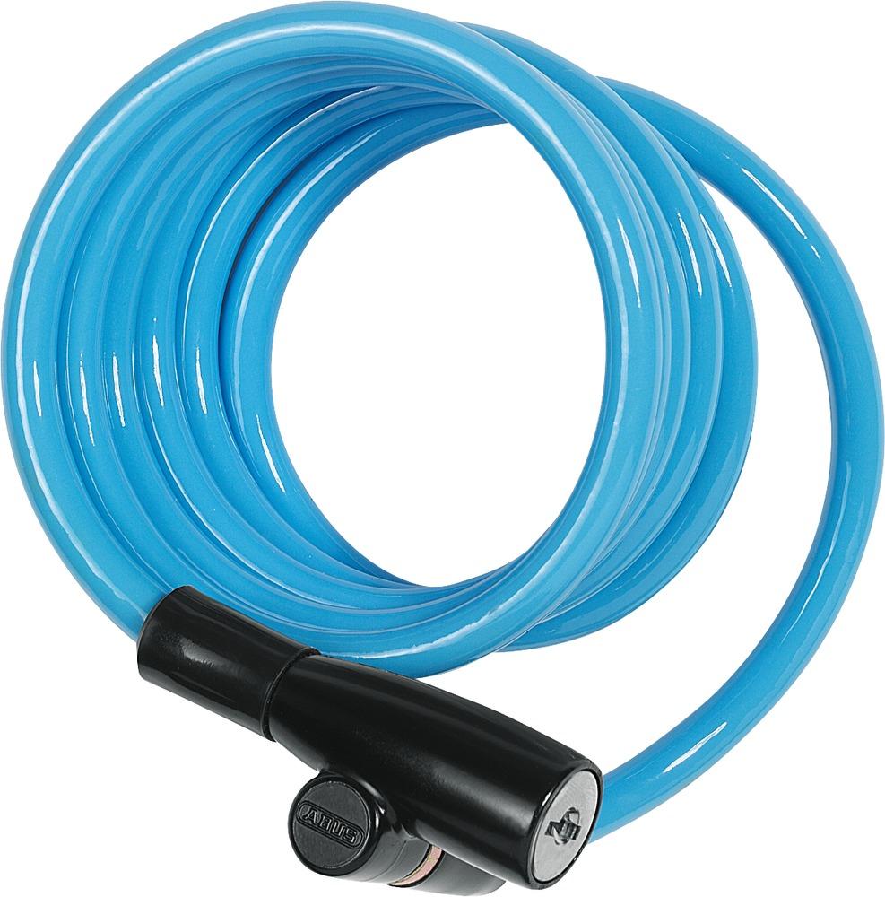 Abus Coil Cable Lock 1950 120 Kids 3 Per Colour 43160 Wire