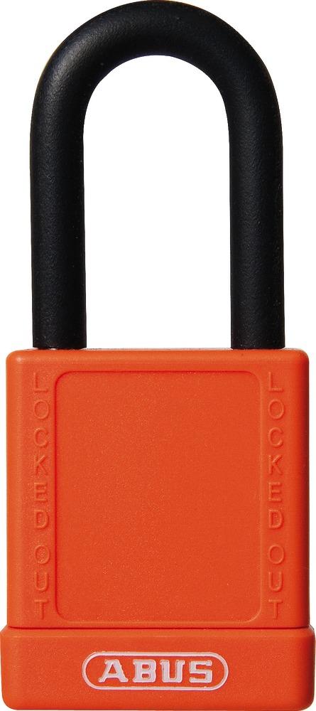 ABUS 59113 Cadenas /à cl/é 74//40 mm Orange