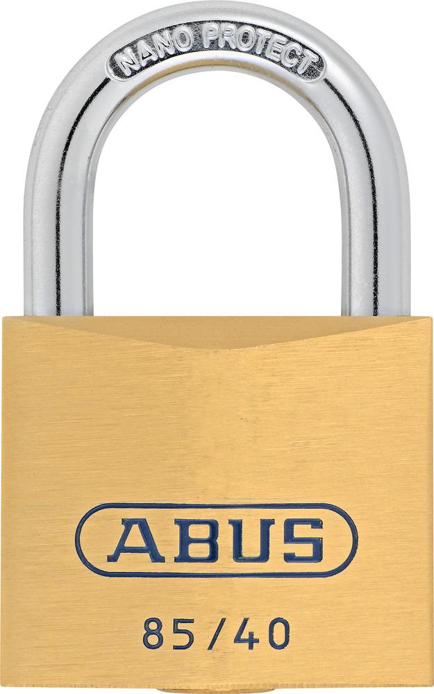 ABUS 85ib//40hb40 en laiton-HANGSCHLOSS