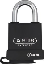 Padlock steel 83WP/53 without cylinder