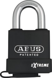 Padlock steel 83WP/63 without cylinder