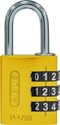 Combination lock 144/30 yellow Lock-Tag