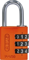 Cijferslot 144/30 orange Lock-Tag