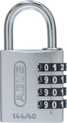 Combination lock 144/40 silver Lock-Tag