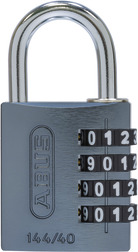 Combination lock 144/40 titanium Lock-Tag