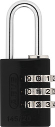 Combination Lock 145/20 black Lock-Tag