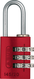 Combination Lock 145/20 red Lock-Tag