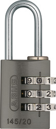 Combination Lock 145/20 titanium Lock-Tag