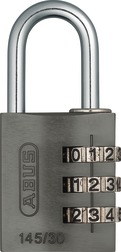 Combination Lock 145/30 titanium Lock-Tag