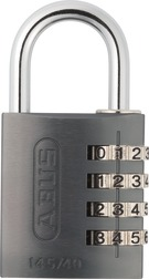 Combination Lock 145/40 titanium Lock-Tag