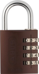 Combination Lock 145/40 brown