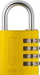 Combination Lock 145/40 yellow Lock-Tag