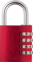 Combination Lock 145/40 red Lock-Tag