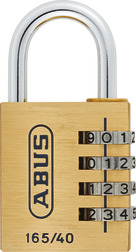Cijferslot 165/40 with Lock-Tag Combination Padlock