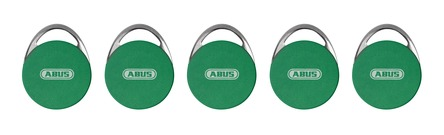 WLX coloured locking media – green (5-piece set)