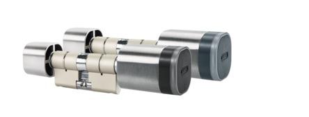 WLX Pro Doppelknaufzylinder Leser außen